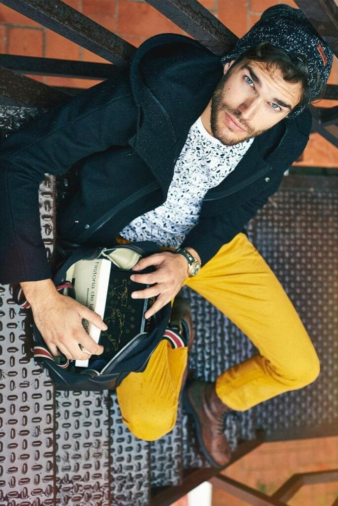 party-outfit-1-683x1024 Men's Yellow Pants Outfits-35 Best Ways to Wear Yellow Pants