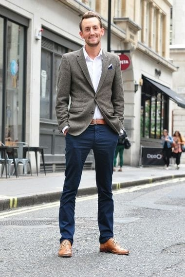 shoes-for-business-casual-outfit Men's Business Casual Outfits-27 Ideas to Dress Business Casual