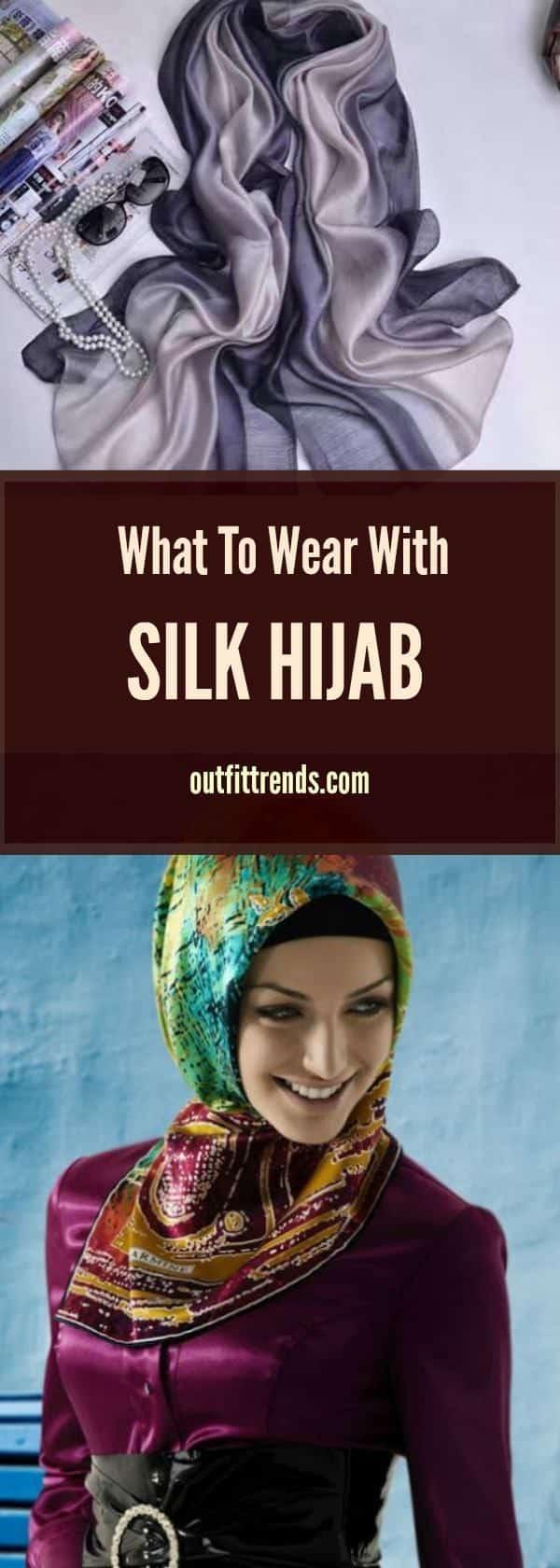 silk Silk Hijab Styles-20 Ideas How to Wear a Silk Hijab in Style