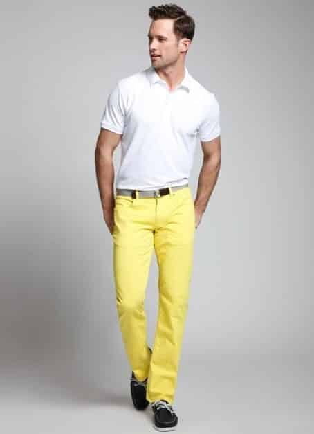 Find Yellow men's pants at ShopStyle. Shop the latest collection of Yellow men's pants from the most popular stores - all in one place.