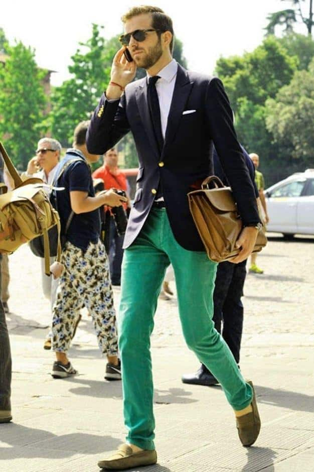how to wear a mint pant (6)