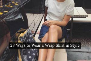 Ways to Wear a Wrap Skirt in Style (29)