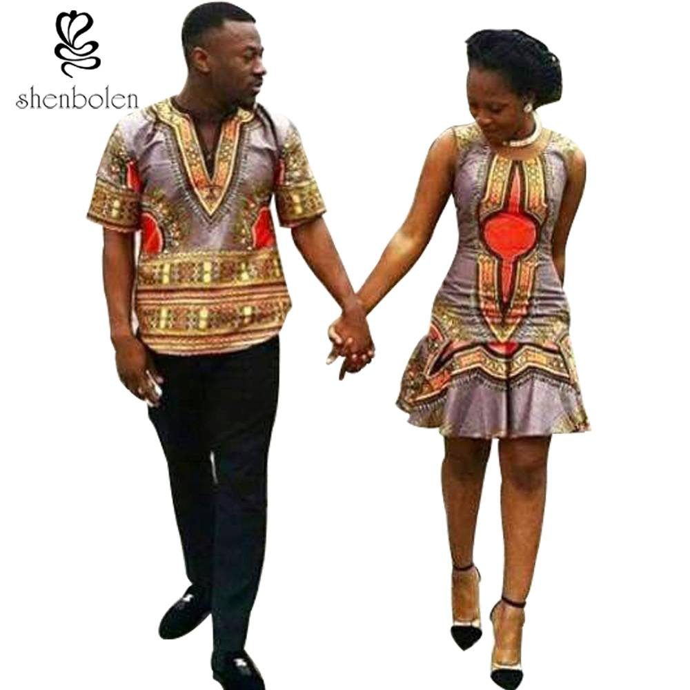 Dashiki-Style-Matching-Outfits 30 Cutest Matching Outfits for Black Couples