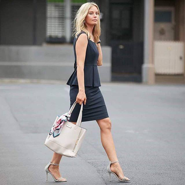 Dressing-For-Work-Interview Professional Skirt Outfits-20 Ideas How To Wear Skirt For Work