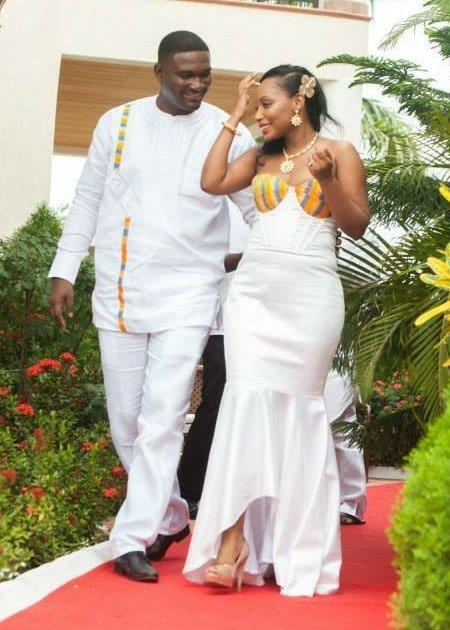 Ghanian-Wear-for-Engagement 30 Cutest Matching Outfits for Black Couples