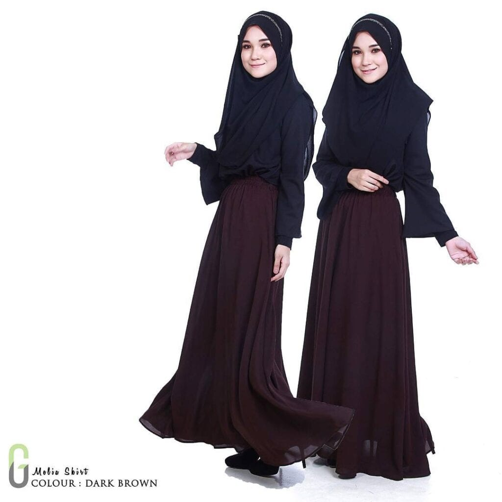 Hijab-Outfit-With-Skirt-1024x1024 Skirt Outfits for College- 35 Ideas To Wear Skirts To School