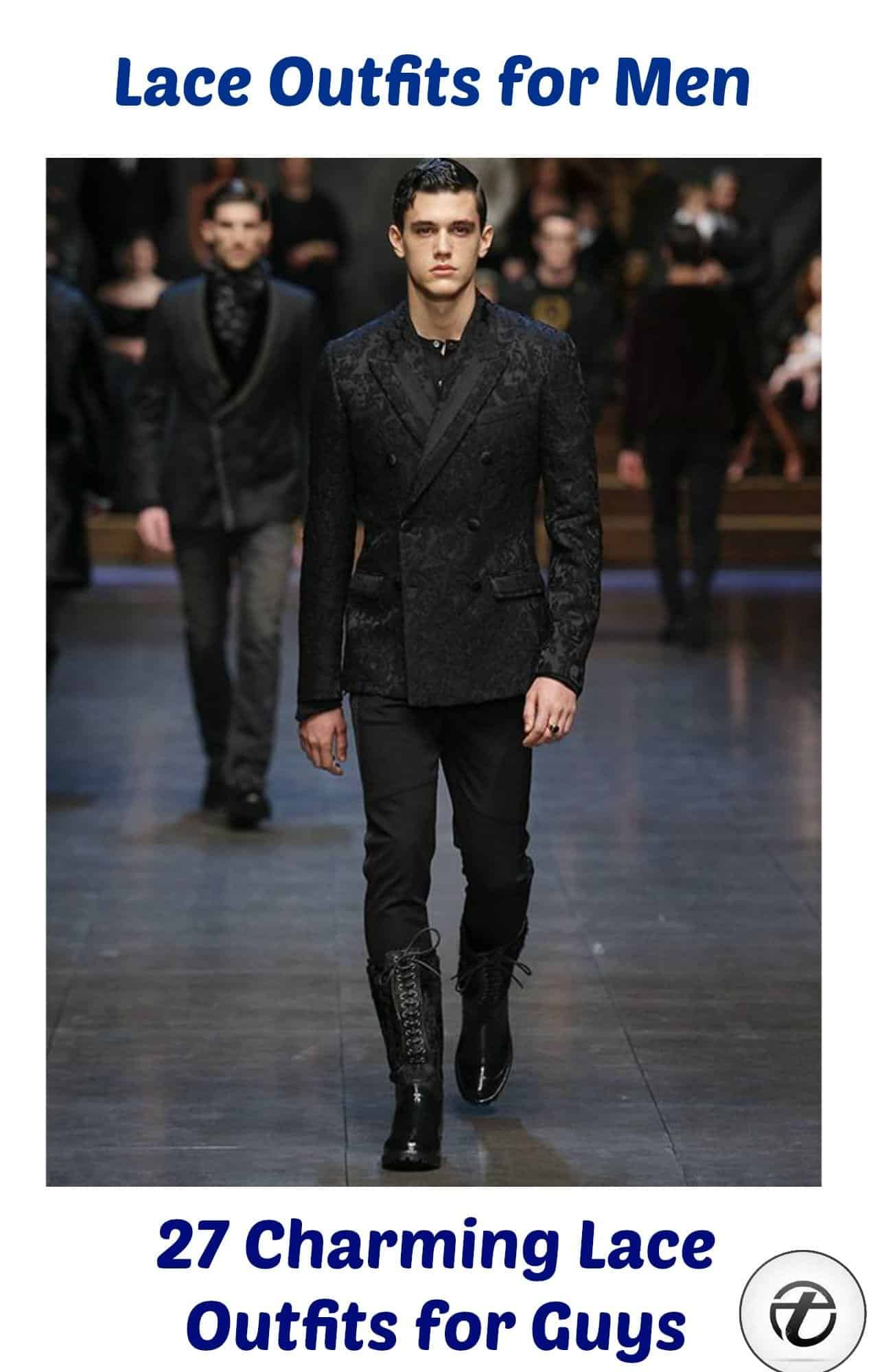 Lace Outfits For Men- 27 Best Ways To Wear Guys Lace Outfits