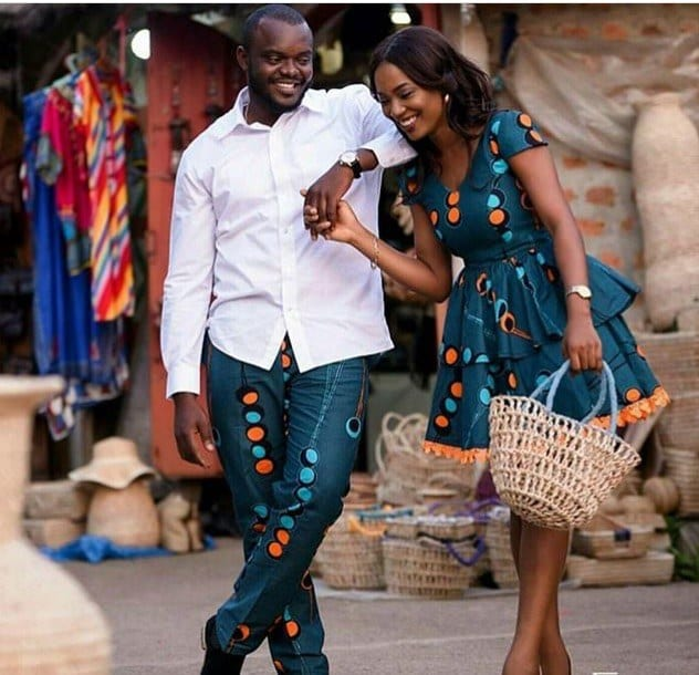 Matching-Summers-Outfits 30 Cutest Matching Outfits for Black Couples