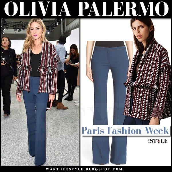 Olivia-Style-Jacket-At-Work Celebrity Work Outfits for Women-30 Celeb Style Work Outfits