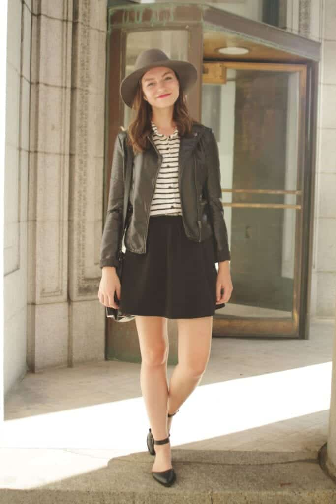 Parent-Teacher-Meeting-Outfit-Ideas-683x1024 Skirt Outfits for College- 35 Ideas To Wear Skirts To School