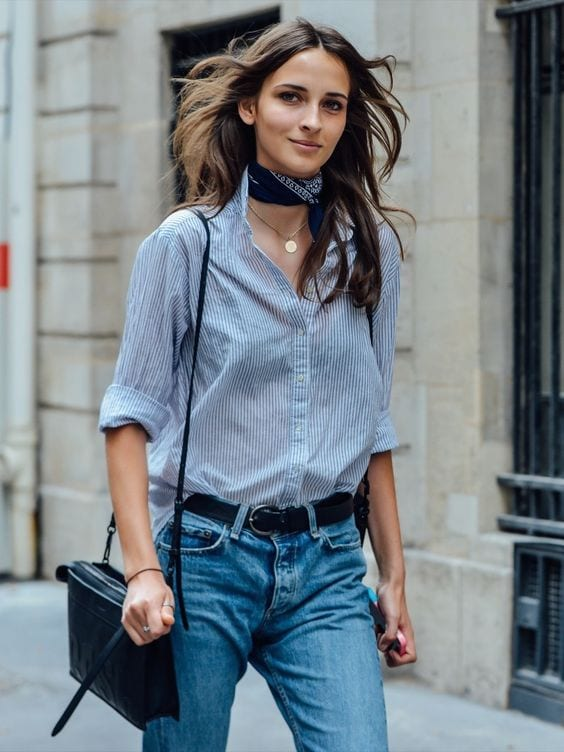 Travellers-Full-of-Fashion-Parisian-Look Latest French Fashion Trends-20 Ways to Dress Like a French Girl