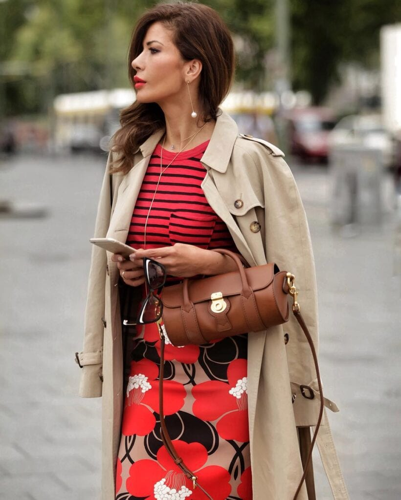 Winter-Work-Outfit-820x1024 Professional Skirt Outfits-20 Ideas How To Wear Skirt For Work