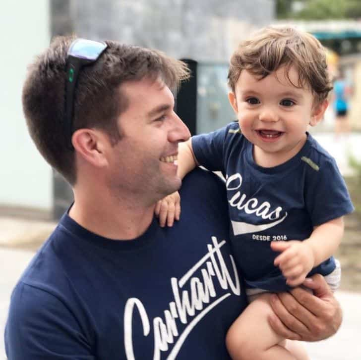 brunch-outfits Father & Son Twinning-30 Amazing Father Son Matching Outfits