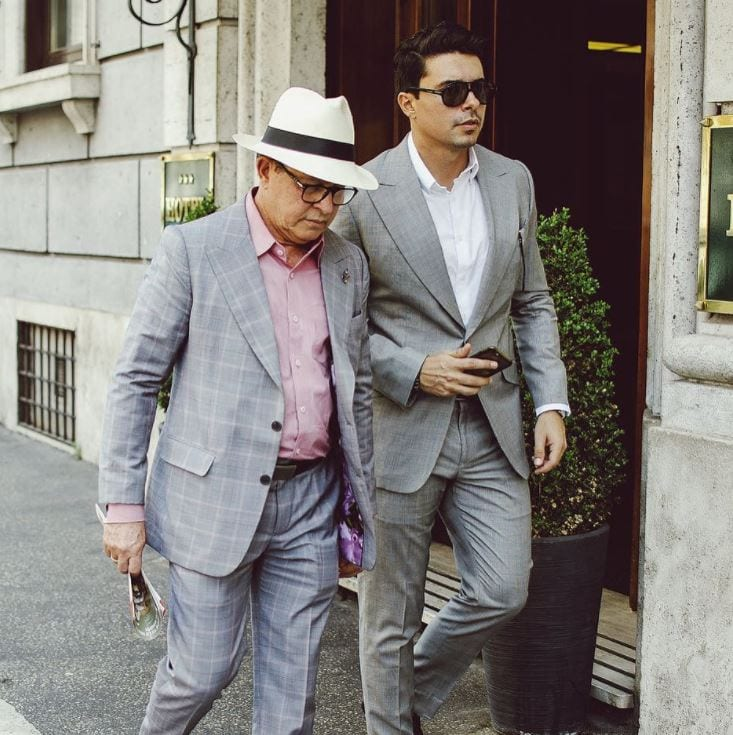 business-outfits Father & Son Twinning-30 Amazing Father Son Matching Outfits