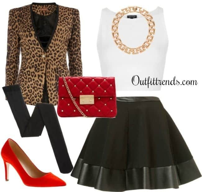 edgy-valentines-day-outfit Meeting with Parents Outfits-16 Cool Outfit Ideas to Meet Parents