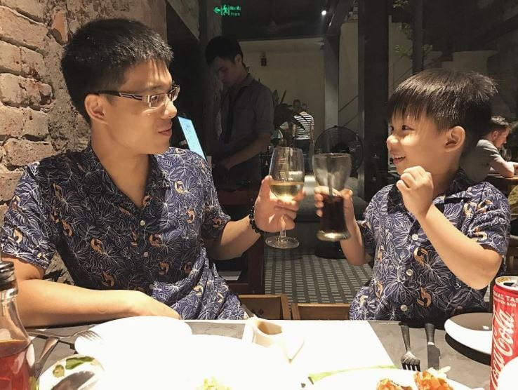 lunch-outfits Father & Son Twinning-30 Amazing Father Son Matching Outfits