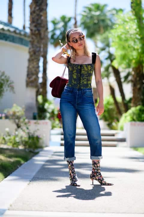 street-style-outfit Coachella Outfits for Girls-27 Ideas What to Wear to Coachella