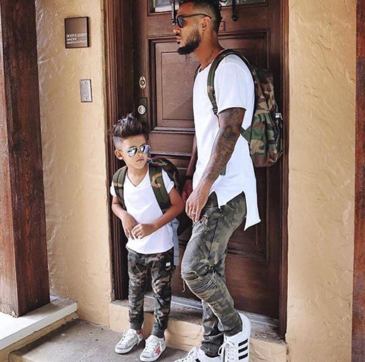 swag-outfits Father & Son Twinning-30 Amazing Father Son Matching Outfits