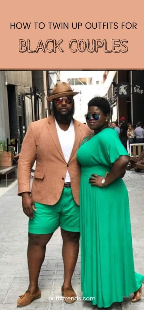How to Twin Up Outfits for Black Couples (1)