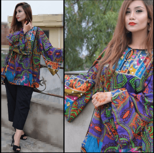 Charming-Attire-for-Short-College-Going-Girls 20 Classy Outfits for Pakistani Girls with Short Height