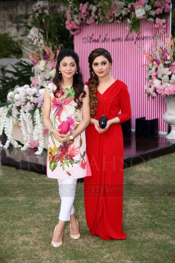 Colorful-Bridal-Shower-Outfits-683x1024 30 Best Bridal Shower Outfits For Pakistani Weddings