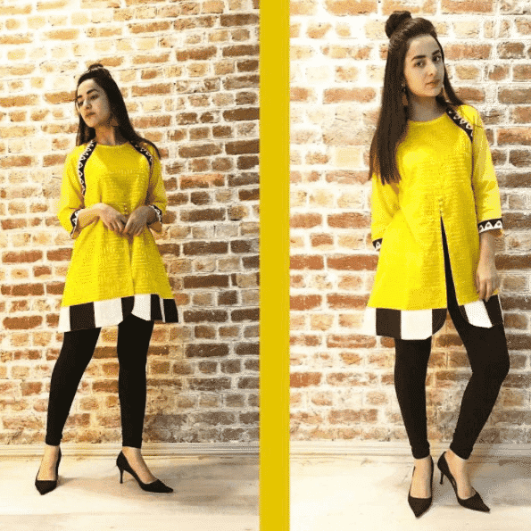 Funky-Dress-up-for-Short-Paksitani-Teenagers 20 Classy Outfits for Pakistani Girls with Short Height