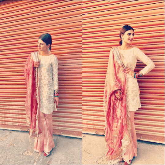 How-to-Slay-Gharara-Pants-at-Parties-for-Pakistani-Girl 30 Trending Party Outfits for Pakistani Girls