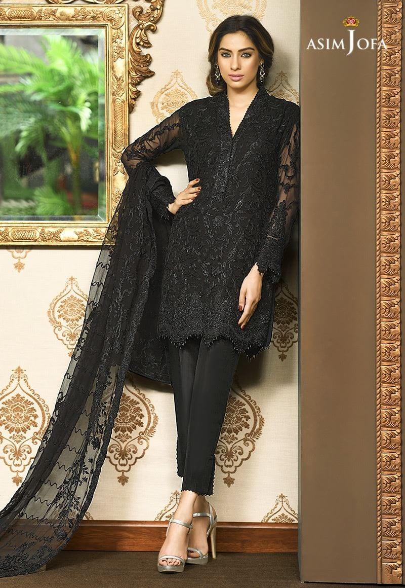 Black dresses pakistani