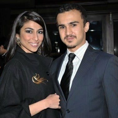 Meesha-Shafi-And-Husband-Mahmood-Rahman Pakistani Couple Outfits-25 Best Outfits Of Pakistani Celebrities