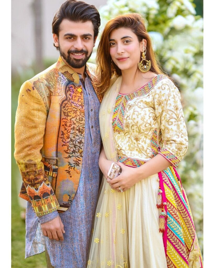 Most-Popular-Pakistani-Celebrity-Couple-820x1024 Pakistani Couple Outfits-25 Best Outfits Of Pakistani Celebrities
