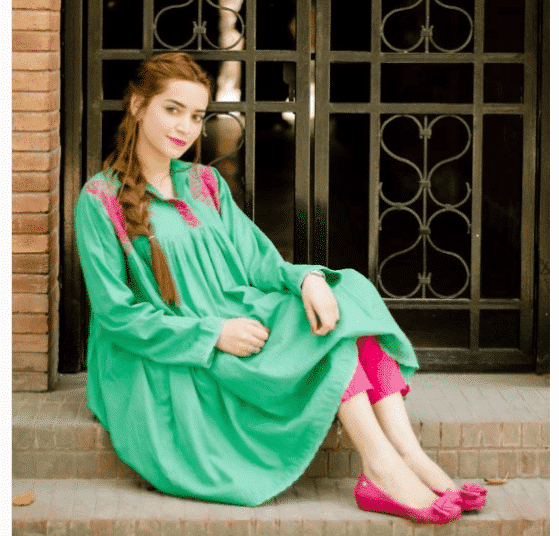 Pakistani-Short-Girls-Simple-Summer-Look 20 Classy Outfits for Pakistani Girls with Short Height