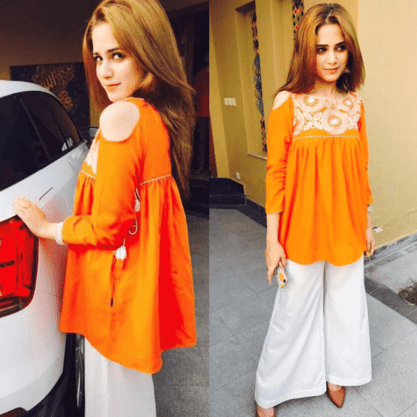 Peplum-Tops-for-Short-Pakistani-Women 20 Classy Outfits for Pakistani Girls with Short Height