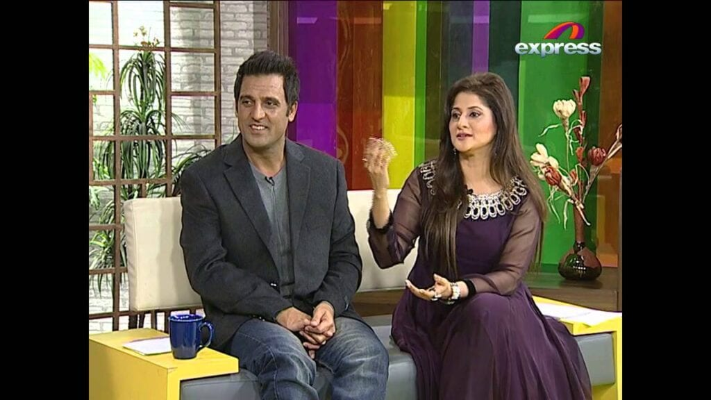 Rambo-And-Sahiba-1024x576 Pakistani Couple Outfits-25 Best Outfits Of Pakistani Celebrities
