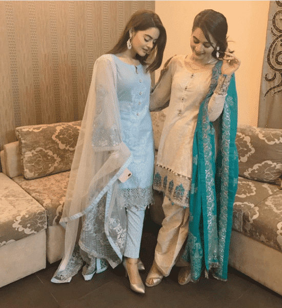 Shalwar-Kameez-for-Girls-with-Short-Height 20 Classy Outfits for Pakistani Girls with Short Height