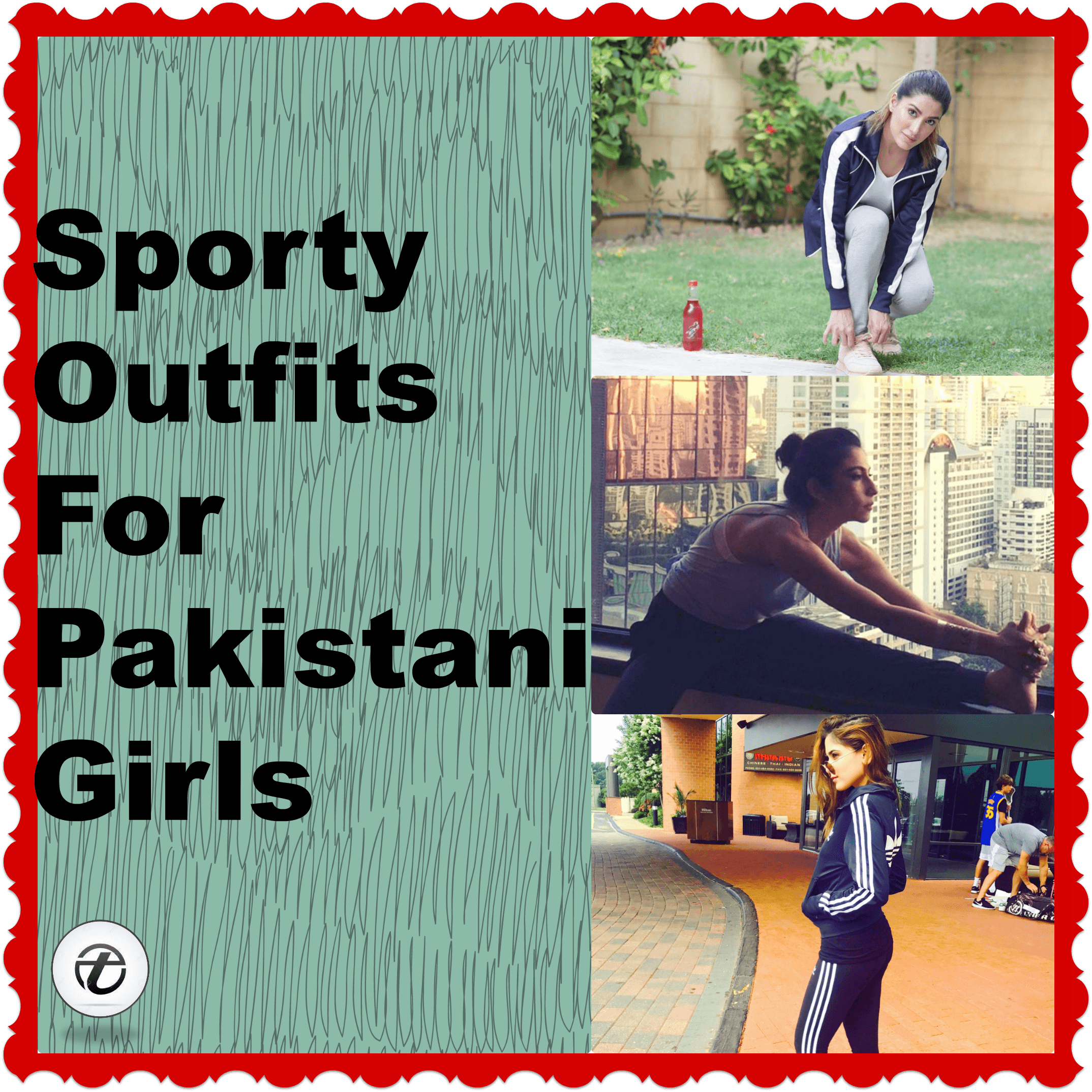 Top Sporty Outfits For Pakistani Girls