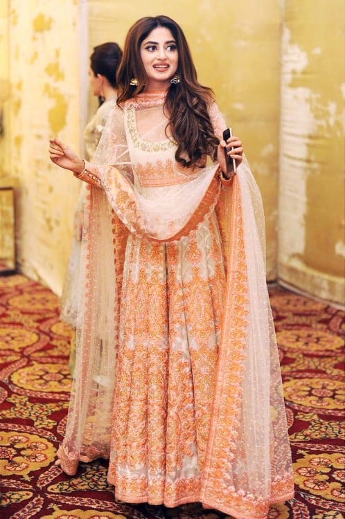 Umbrella-Frocks-for-Parties-for-Pakistani-Girl 30 Trending Party Outfits for Pakistani Girls