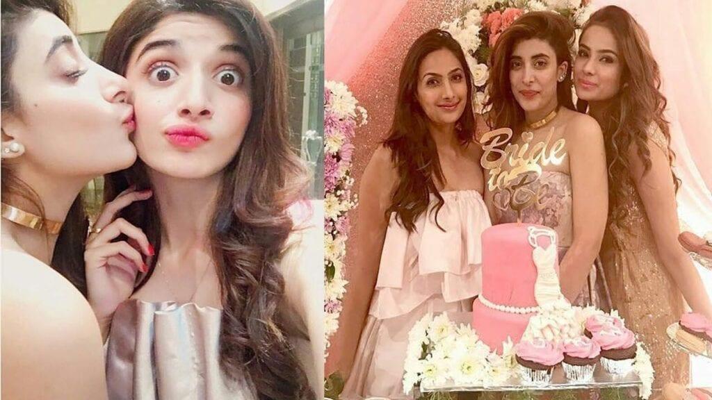 Urwa-Hocane-Bridal-Shower-1024x576 30 Best Bridal Shower Outfits For Pakistani Weddings