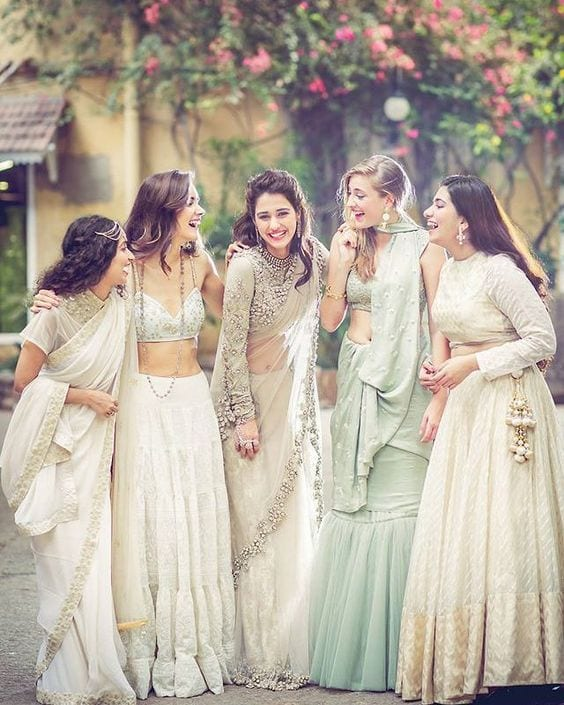 What-To-Wear-For-Bridal-Shower-Luncheon 30 Best Bridal Shower Outfits For Pakistani Weddings