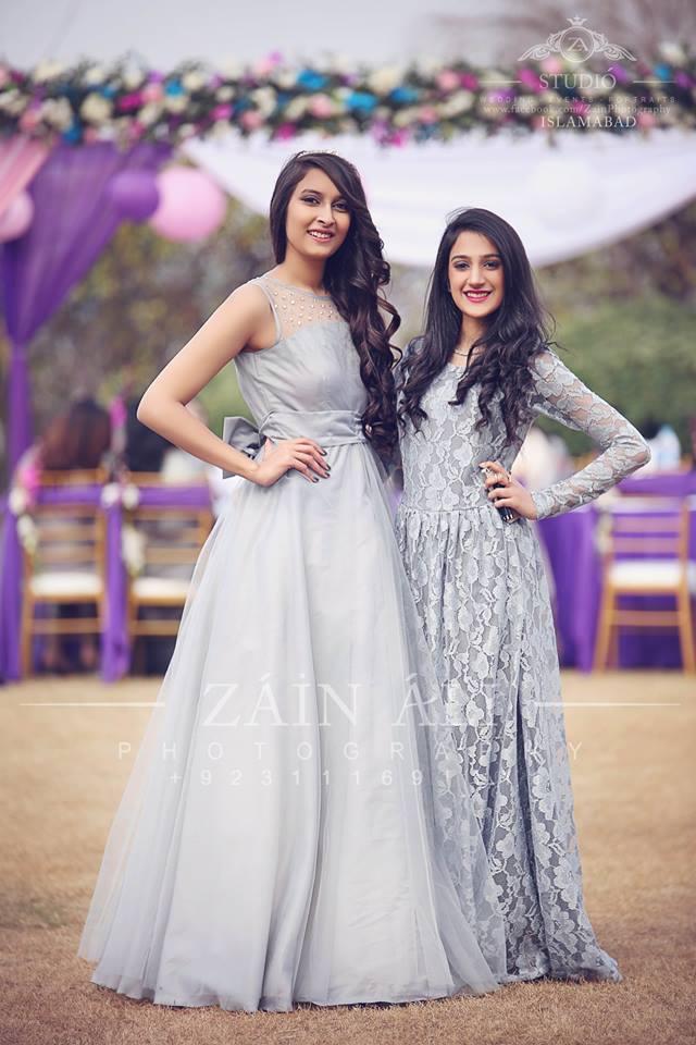 pakistani-bridesmaids-bridal-shower-outfit- 30 Best Bridal Shower Outfits For Pakistani Weddings