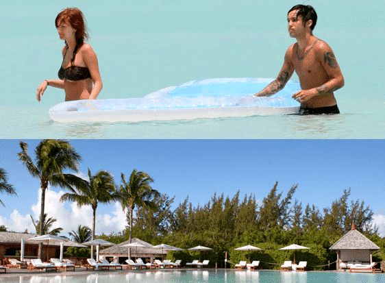 Ashlee-Simpson-and-Pete-Wentz-Honeymoon-Destination 30 Most Beautiful Honeymoon Destinations of Famous Celebrities