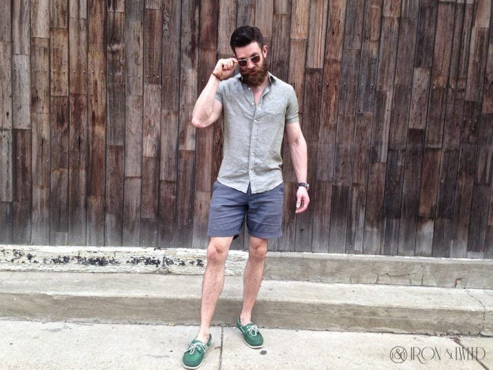 Boat-Shoes-with-No-Socks Mens Sockless Guide-27 Ways for Men to Wear Shoes without Socks