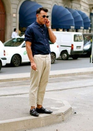 Fake-Tan-is-Essential Mens Sockless Guide-27 Ways for Men to Wear Shoes without Socks