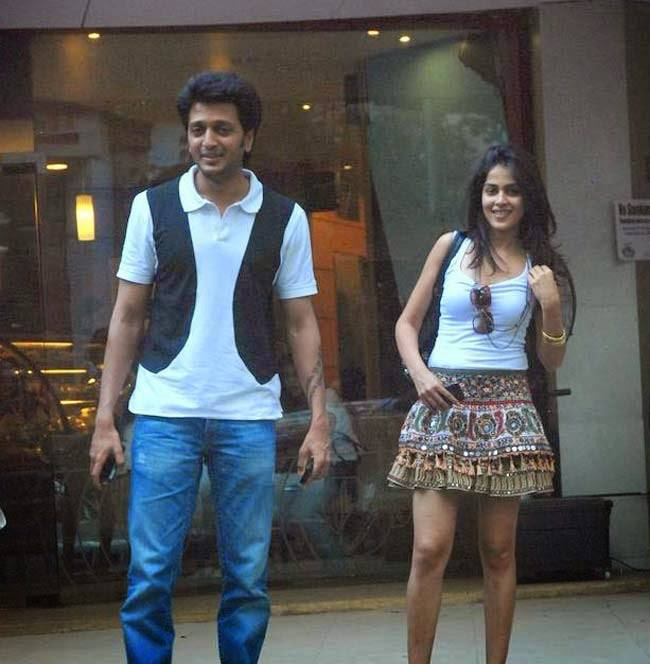 Genelia-D'souza-And-Riteish-Deshmukh-Honeymoon-Destination 30 Most Beautiful Honeymoon Destinations of Famous Celebrities