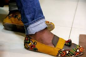 High-Fashion-Ankara-Shoes Mens Sockless Guide-27 Ways for Men to Wear Shoes without Socks