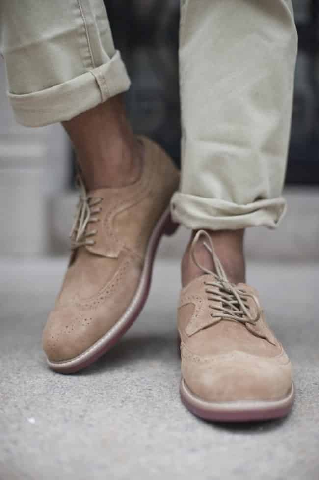 How-to-Wear-Jeans-with-Sockless-Shoes Mens Sockless Guide-27 Ways for Men to Wear Shoes without Socks