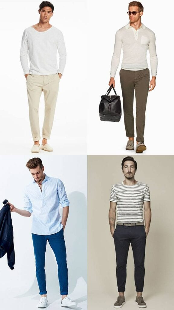 Model-Like-No-Sock-Attire--576x1024 Mens Sockless Guide-27 Ways for Men to Wear Shoes without Socks