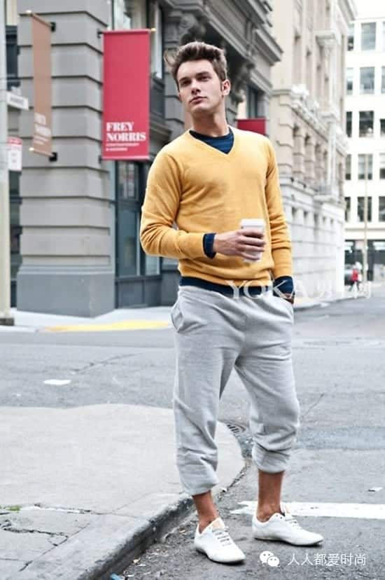 Sweatpants-to-Sockless-With Mens Sockless Guide-27 Ways for Men to Wear Shoes without Socks
