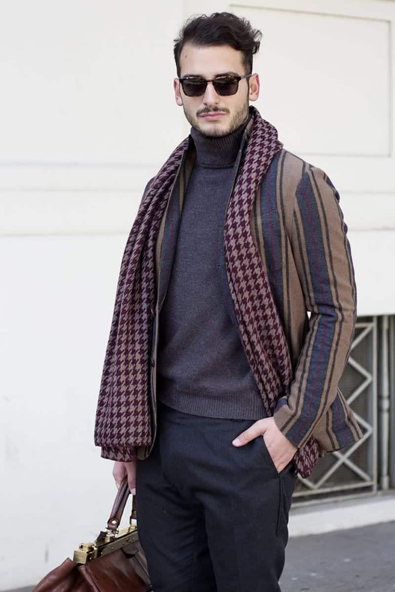 Men Turtleneck Style-23 Ideas How to Wear Turtleneck For Men