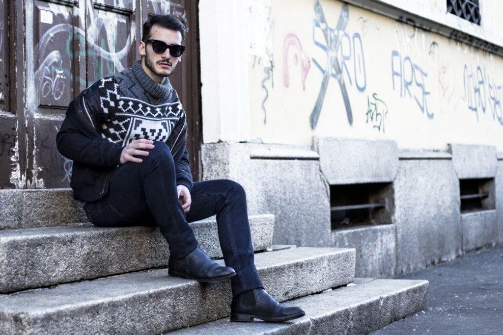 2-1 Men Turtleneck Style-23 Ideas How to Wear Turtleneck For Men