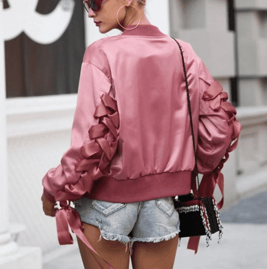 Silk-Jackets-for-Young-Ladies Women's Silk Outfit Ideas-23 Best Ways to Style Silk Outfits